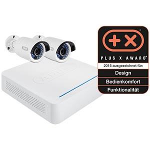 Netzwerk Digitalrekorder  2 Außenkameras ABUS SECURITY TECH TVVR36210