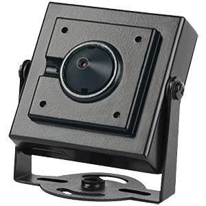 Mini colour camera, pinhole lens, 540 TVL FREI