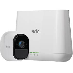 Überwachungskamera Arlo Pro, IP, WLAN, Server + Außenkamera NETGEAR VMS4130