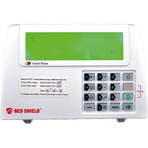 SKT Red Shield Alarmsystem, Start-Set SKT WS-100