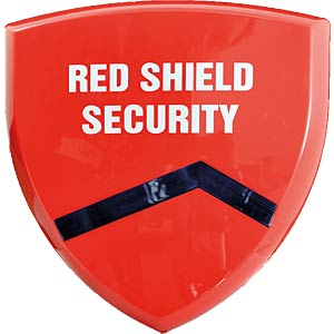 SKT Red Shield alarm system, outdoor siren SKT WS-209