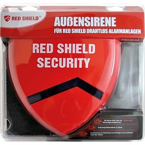 SKT Red Shield Alarmsystem, Außensirene SKT WS-209