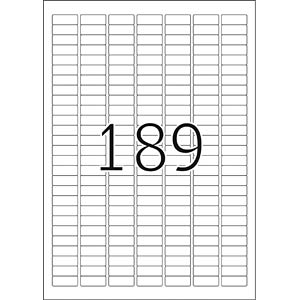 PREMIUM A4 labels 25 sheets/pack HERMA 4333