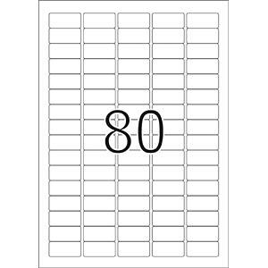 PREMIUM A4 Etiketten 25 Blatt/Packung HERMA 4336