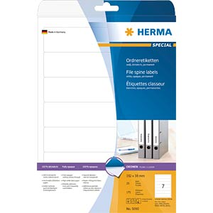 SPECIAL A4 file labels HERMA 5090