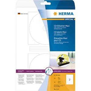 SPECIAL A4 CD labels (paper) HERMA 5115