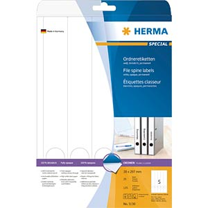 SPECIAL A4 file labels HERMA 5130