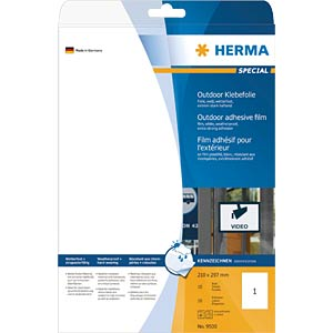 SPECIAL A4 outdoor film labels, white HERMA 9500