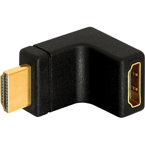 HDMI compact plug/socket adapter FREI