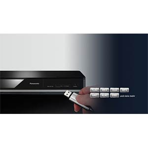 3D-Blu-ray Player, black PANASONIC DMP-BDT167EG