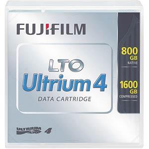 LTO ULTRIUM 4 tape, 800 GB (1.6 TB), Fuji FUJIFILM 48185