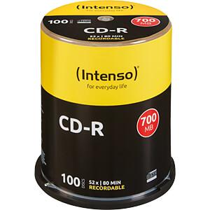 CD 80100 INT - Intenso CD-R 700MB/80min