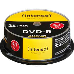 DVD-R4,7 INT25 - Intenso DVD-R 4,7GB