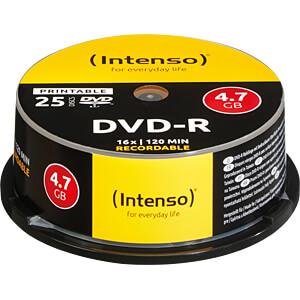 DVD-R4,7 INT25P - Intenso DVD-R 4,7GB