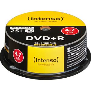 DVD+R4,7 INT25P - Intenso DVD+R 4,7GB