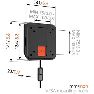 Fixed TV Wall Mount VOGELS 73202332
