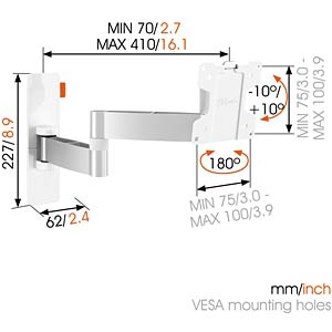 Full-Motion TV Wall Mount VOGELS 73202337