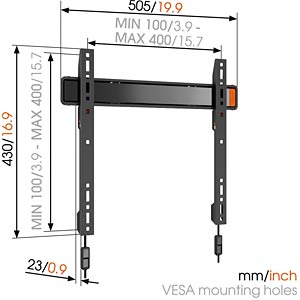Fixed TV Wall Mount VOGELS 73202344