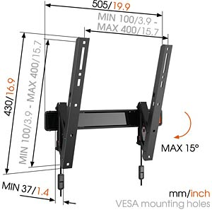 Tilting TV Wall Mount VOGELS 73202345