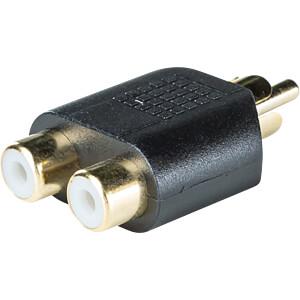 Cinch Stecker auf 2x Cinch Buchse RND CONNECT RND 205-00574