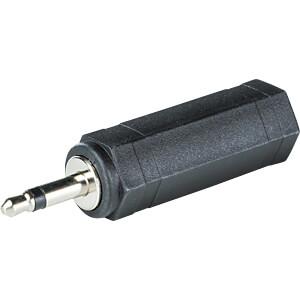 3,5 mm Mono Klinken Stecker auf 6,3 mm Mono Klinken Buchse RND CONNECT RND 205-00607