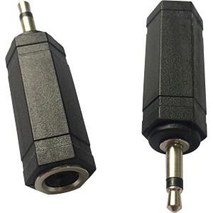 3,5 mm Mono Klinken Stecker auf 6,3 mm Mono Klinken Buchse RND CONNECT RND 205-00614