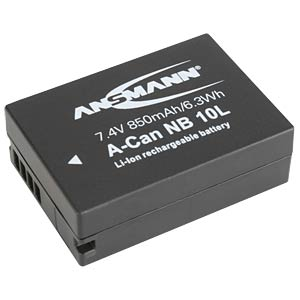 Li-Ion Kamera-Akku 7,4V 850mAh ANSMANN 1400-0024