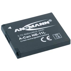 Battery for Canon Digital Cameras ANSMANN 1400-0028