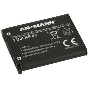 Akku, Digitalkamera, kompatibel, 650 mAh, Fujifilm ANSMANN 1400-0036