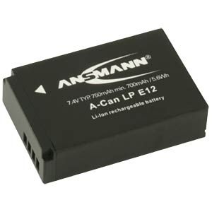 Li-Ion Battery 7,4V 750mAh ANSMANN 1400-0045