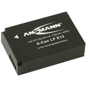 Li-Ion Kamera-Akku 7,4V 750mAh ANSMANN 1400-0045