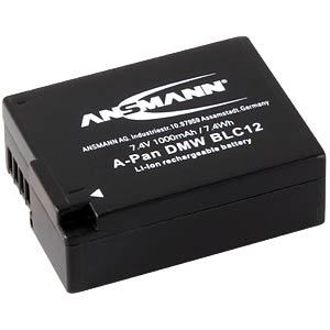 Battery for Panasonic Digital Cameras ANSMANN 1400-0056