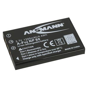 Li-Ion Battery 3,7V 1200mAh ANSMANN 5022273/05