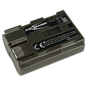 Akku, Camcorder, kompatibel, 1400 mAh, Canon ANSMANN 5022283