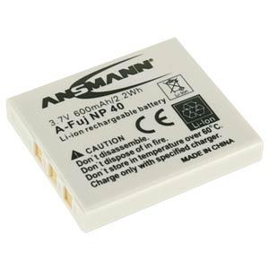 Akku, Digitalkamera, kompatibel, 600 mAh, Fujifilm ANSMANN 5022483