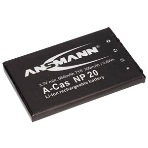 Li-Ion Battery 3,7V 700mAh ANSMANN 5022773/05