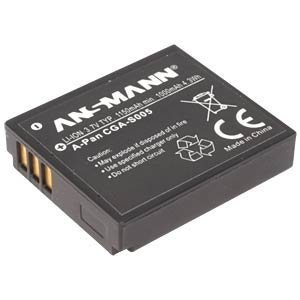 Li-Ion Battery 3,7V 1150mAh ANSMANN 5022783/05