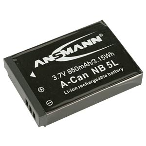Li-Ion Battery 3,7V 850mAh ANSMANN 5022953