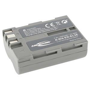 Akku, Digitalkamera, kompatibel, 1400 mAh, Nikon ANSMANN 5044073