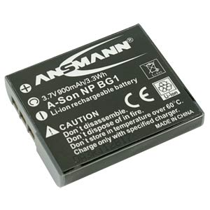 Li-Ion Battery 3,7V 900mAh ANSMANN 5044293