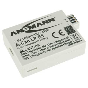 Li-Ion Battery 7,4V 1000mAh ANSMANN 5044443