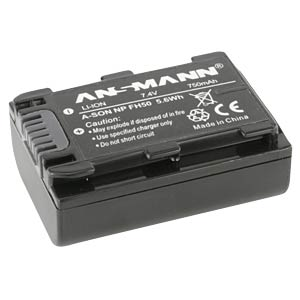 Li-Ion Battery 7,4V 700mAh ANSMANN 5044623