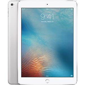 Apple iPad Pro 9,7, 32 GB, Wi-Fi+Cellular, Silber APPLE MLPX2FD/A