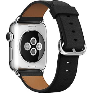 Apple Watch, 38 mm, schwarz APPLE MLE62FD/A
