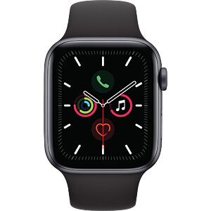 APPLE MWVF2FD/A - Apple Watch S5 Alu 44mm Grau (Sport sw)