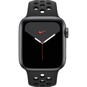 APPLE MX3D2FD/A - Apple Watch S5 Nike+ Alu 40mm LTE Grau (Sport anthrazit/sw)