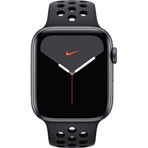 APPLE MX3W2FD/A - Apple Watch S5 Nike+ Alu 44mm Grau (Sport anthrazit/sw)