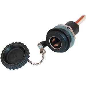Wasserdichte DIN-Einbau-Normsteckdose PROCAR 52005000