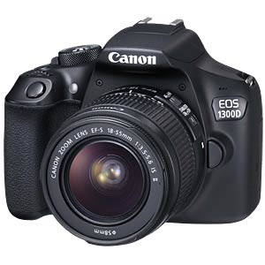 Canon EOS 1300D + 18-55mm IS II Power Kit CANON 1160C066