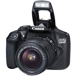 Canon EOS 1300D + 18-55mm IS II Lens CANON 1160C026